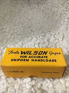 LE Wilson Reloading Tool Die Cartridge Case Gage New Old Stock NIB 303 Savage