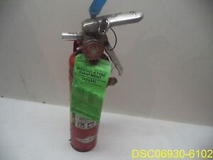 A417 Amerex 2 5lb Abc Dry Chemical Class A B C Fire Extinguisher w Mount Brack