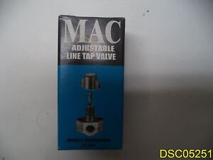 Qty 36 Mac Qtm 1 1 4 5 16 3 8 Od Tube Refridgerator Line Piercing Valves
