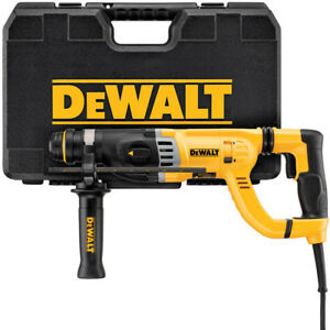 Dewalt 1 1 8 In Sds D handle Rotary Hammer W Vibration Control D25263k New