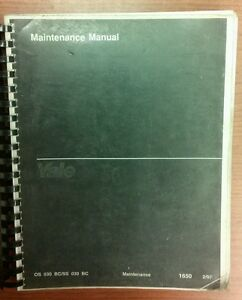 Yale Fork Lift Truck Maintenance Manual Os ss 030 Bc