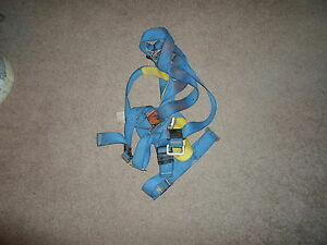 Used First By Protecta Safety Harness Fall Protection Full Body Serial 122278