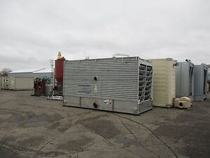 Bac Cooling Tower With Stainless Steel Basin 3333a 333 Tons Mfd 2002 Used