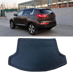 Car Interior Rear Trunk Mat Carpet 1pcs For Kia Sportage Ql 4th Gen 2016 2018