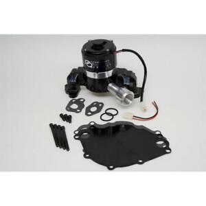 Prw Water Pump 4430217 35 Gpm Black Powdercoat Aluminum Electric For Ford Sbf