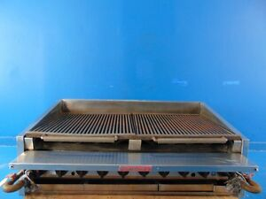 Magikitch n 48 Gas Char broiler Grill Radiant Heat
