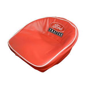 Ford Tractor Red Script Seat Cover Fits 8n 401 r