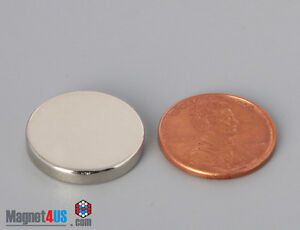 100pcs 3 4 dia X 1 8 thick N52 Rare Earth Ndfeb Super Strong Disc Magnets Sale