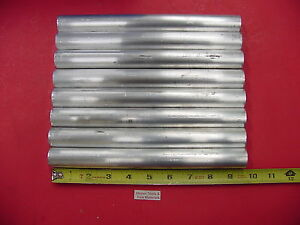 8 Pieces 1 Aluminum Round 6061 9 5 Long T6511 Solid Rod 1 00 Od New Bar Stock