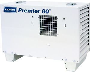 Lb White Premier 80 Ductable Tent construction Heater Propane 80 000 Btu hr