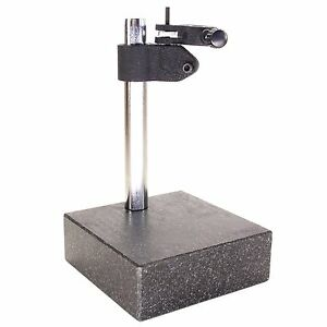 Hfs Tm Granite Surface Check Comparator Stand Plate 6 X 6 X 2 Base 10
