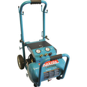 Makita 5 2 Gallon Wheeled Dolly style Air Compressor Mac5200 Reconditioned