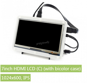 7 Inch Hdmi 1024 600 Touch Screen Lcd c Display For Raspberry Pi Cover Case