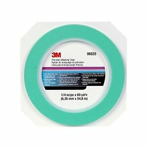 3m 06525 Precision Masking Tape 1 4 Inch X 60 Yards 1roll