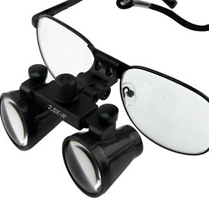 3 5x Dental Loupes Surgical Medical Binocular Optical Magnifier Glass Cv 286