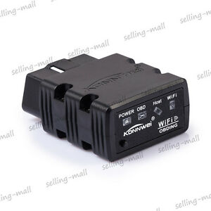 Obd2 Obdii Car Diagnostic Interface Scanner Kw902 Wifi For Iphone Ios Android Pc