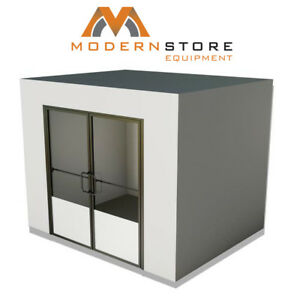 New 8 x16 x8 Commercial Beer Cave Walk in Beer Refrigerator Free Ship