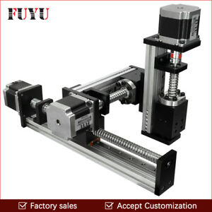 Ball Screw Linear Rail Guide Table Xyz Stage Slide Actuator Robot Cnc Engraving