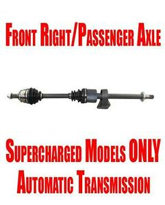 New Front Passenger right Side Axle For Mini Cooper Supercharged A t 2005 2008