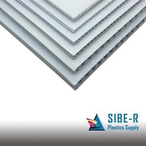 10 Pack 4mm Grey 24 X 48 Corrugated Plastic Coroplast Sheets Sign