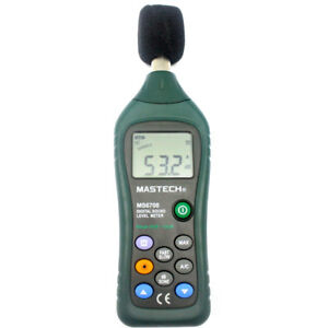 Professional Digital Sound Level Meter Ms6708 Anallog 30 To 130db Backlight Usa