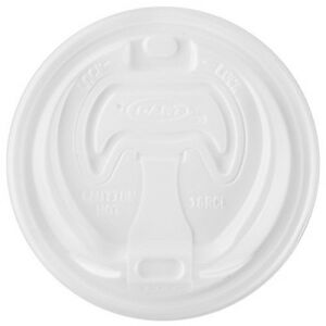 Dart 16rcl White Optima Reclosable Lid For Foam Cups And Containers