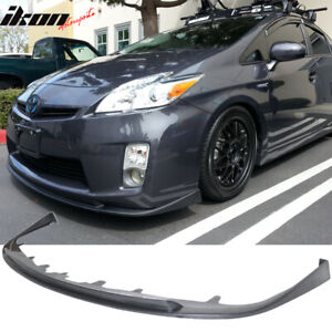 Fits 10 11 Prius 5dr Hb Hatchback Jdm Oe Style Front Bumper Lip Spoiler Pu
