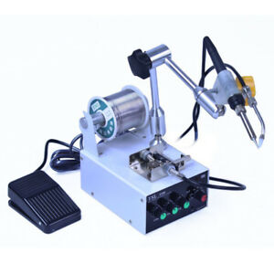 220v Multi function Electric Iron Tool Thermostatic Tin Feeding Solder Station