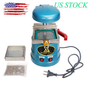 Dental Vacuum Forming Molding Former Machine Steel Ball Lab Equipment Supply New