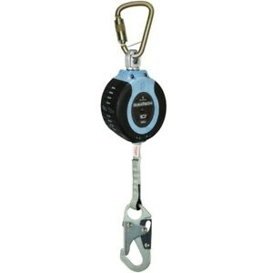 Falltech Duratech Compact 10 Self retracting Lanyard Device Carabiner Snap Hook