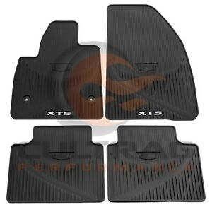 2017 2020 Cadillac Xt5 Gm Front Rear All Weather Floor Mats Black 84072385
