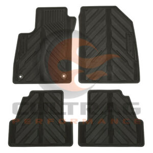 2013 2019 Buick Encore Gm Front Rear All Weather Floor Mats Black 42364956