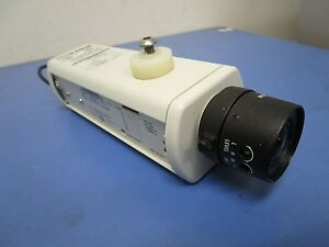 Burle Tc352a Ccd Monochrome Security Camera With Burle Tc9903a 3 7mm 1 16 Lens