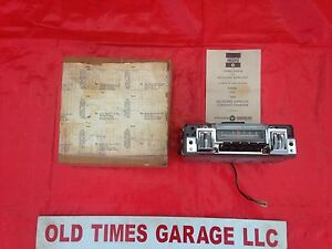 Nos 1968 1969 Mopar B Body Am Thumbwheel Radio Charger R T Gtx Road Runner 69