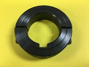1 Double Split Clamping Collar W keyway Black Oxide Finish 2sc 100kw