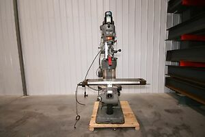 12340 Bridgeport Series I Vertical Knee Mill