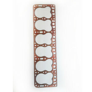Hudson Super Six Commodore Six Pacemaker 500 Head Gasket Copper 1948 50