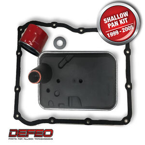 Allison 1000 Series Transmission Shallow Pan Super Filter Kit My 1999 2005
