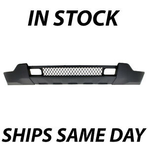 New Dark Gray Lower Front Bumper Valance For 2011 2013 Jeep Grand Cherokee 11 13