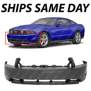 New Primered Front Bumper Cover Fascia For 2010 2012 Ford Mustang Gt 10 12