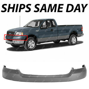 New Primered Front Bumper Upper Valance Cover Cap For 2004 2006 Ford F150 Truck