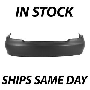 New Primered Rear Bumper Cover For 2002 2006 Toyota Camry Sedan 02 06