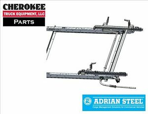 Adrian Steel Ddlr61ftl Single Drop down Ladder Rack For Ford Transit Low Roof