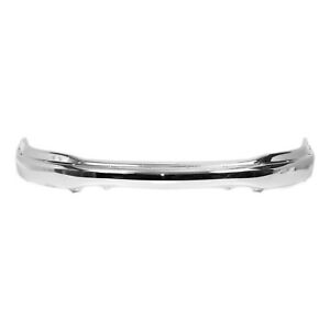 New Chrome Steel Front Bumper Cover Face Bar For 1999 2002 Ford F150 Truck