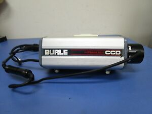 Burle Hc306e B w Hi resolution Ccd Camera With Cosmicar 4 8mm 1 1 8 Lens