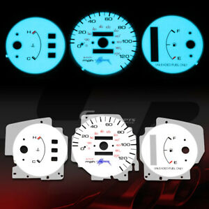 Indiglo Glow Gauge harness El Cover For 92 95 Honda Civic Dx Lx Cx No Tach At
