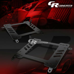 2x Left Right Racing Bucket Seat Mounting Bracket For 00 05 Celica Zz T230 231
