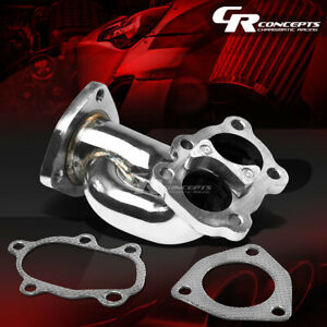 For 240sx S13 S14 Sr Sr20de Stainless Racing Turbo Outlet Downpipe Elbow Exhaust