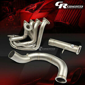 J2 For Honda B series Cast Stainless Steel Top mount Turbo Exhaust Manifold Kit
