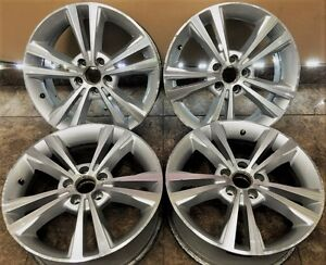 Lincoln Ford Mks 18 Factory Oem Wheels Rims 3765